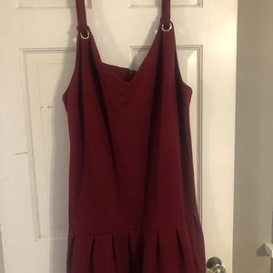 Eloquii Maroon Dress Size 22